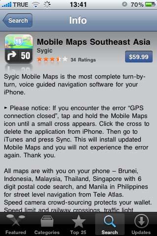 iApps: Sygic Mobile map southeast asia Page: 1 :PDAMobiz com Forum